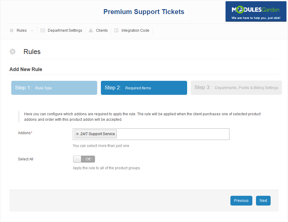 Premium Support Tickets For WHMCS: Screen 9
