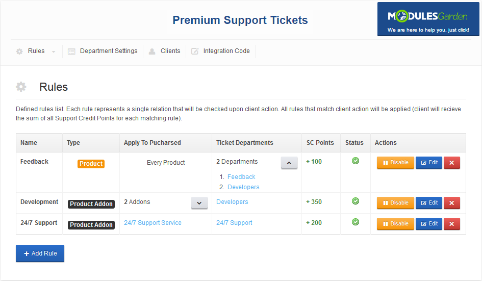 Premium Support Tickets For WHMCS: Screen 4