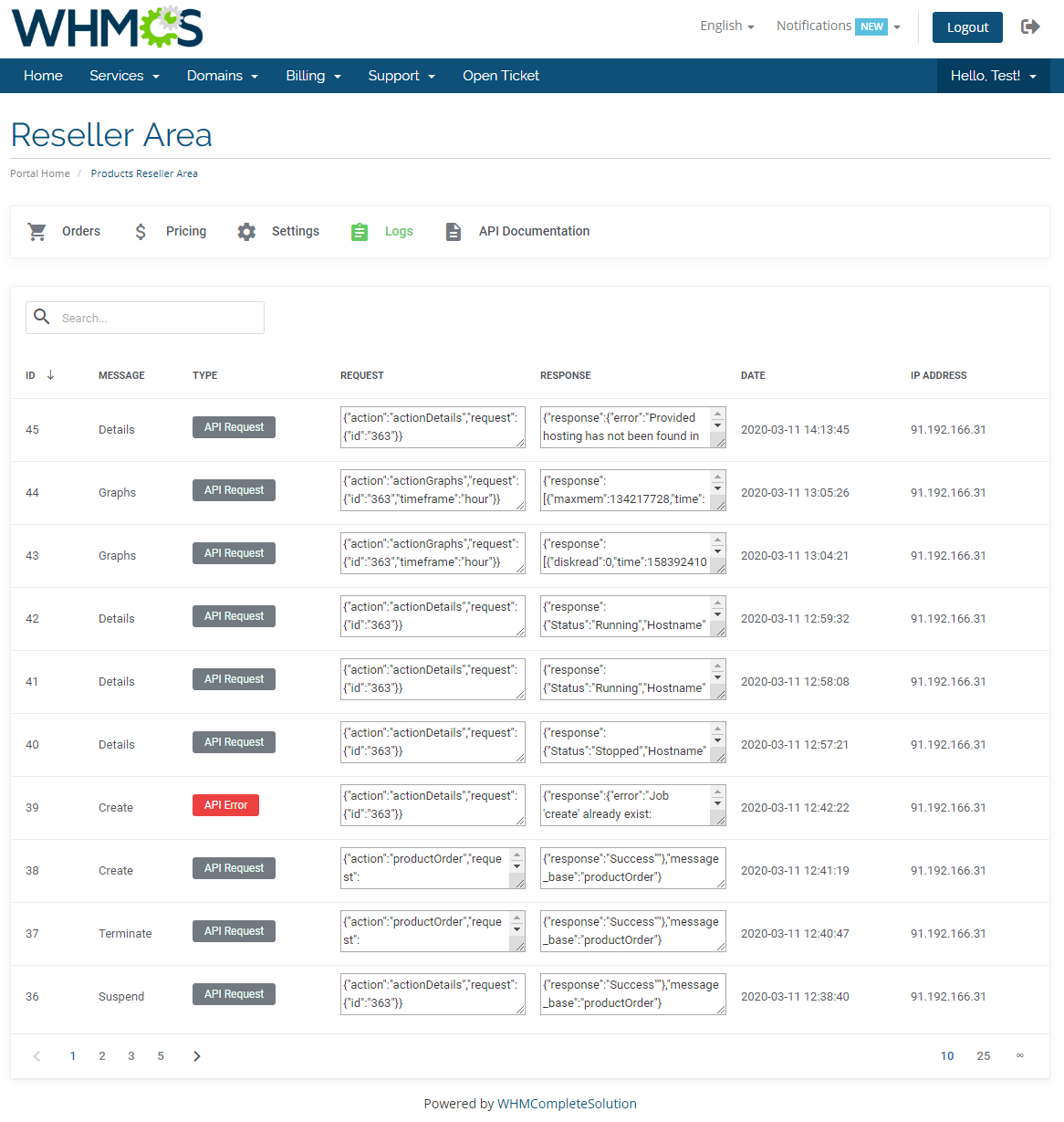 Products Reseller For WHMCS: Module Screenshot 22