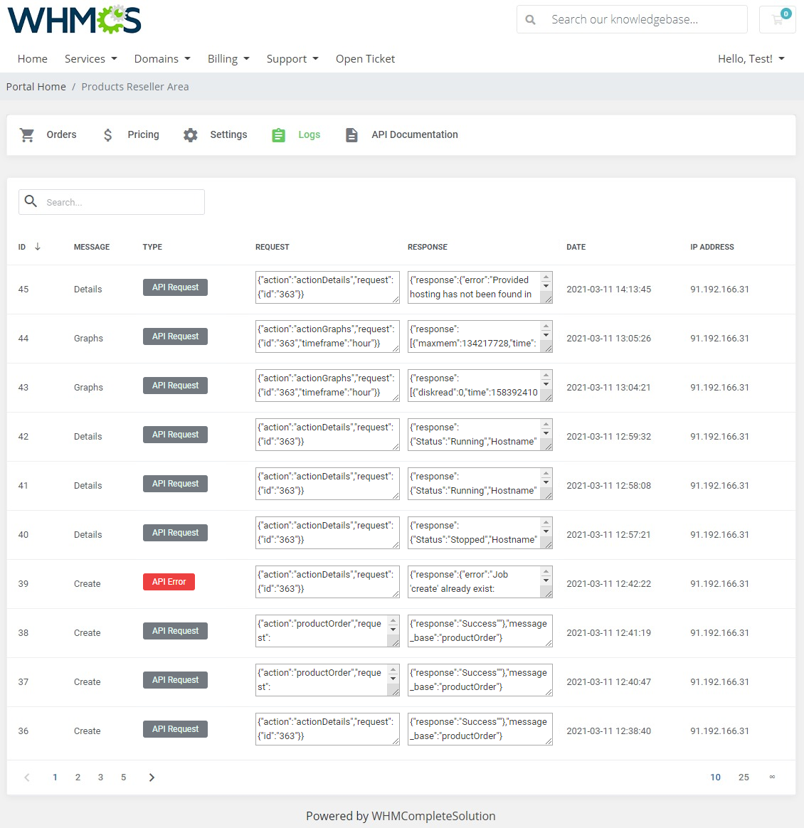Products Reseller For WHMCS: Module Screenshot 24