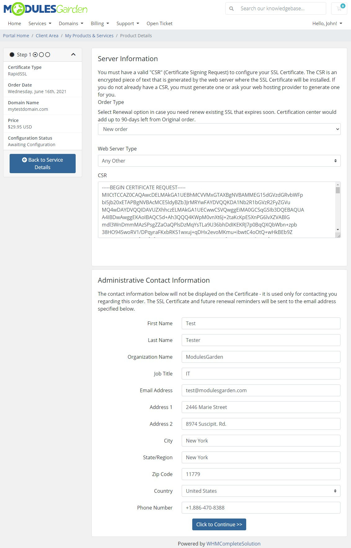 Products Reseller For WHMCS: Module Screenshot 33