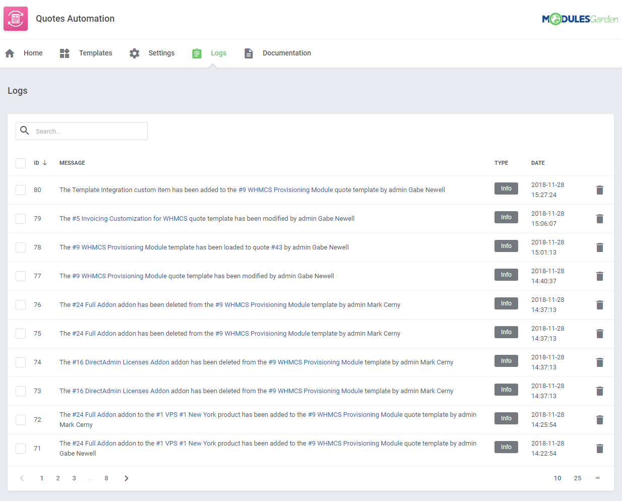 Quotes Automation For WHMCS: Module Screenshot 10