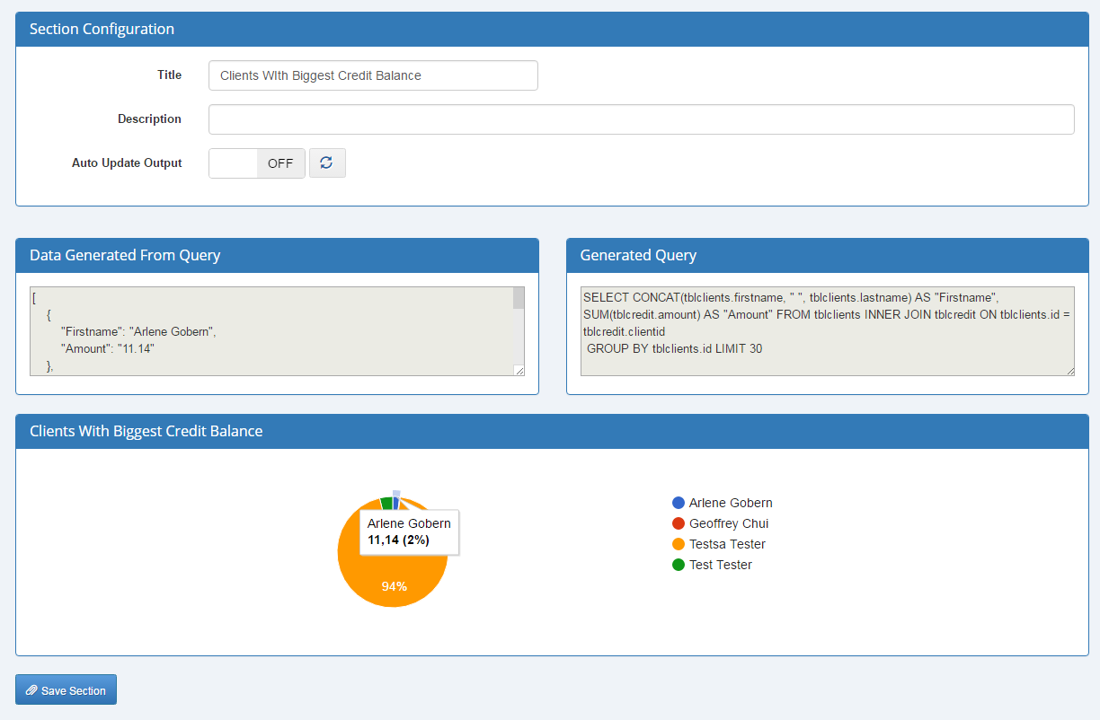 Report Generator For WHMCS: Screen 7