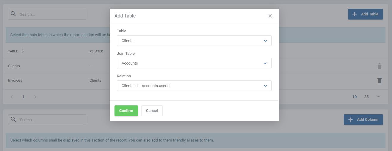 Report Generator For WHMCS: Module Screenshot 12