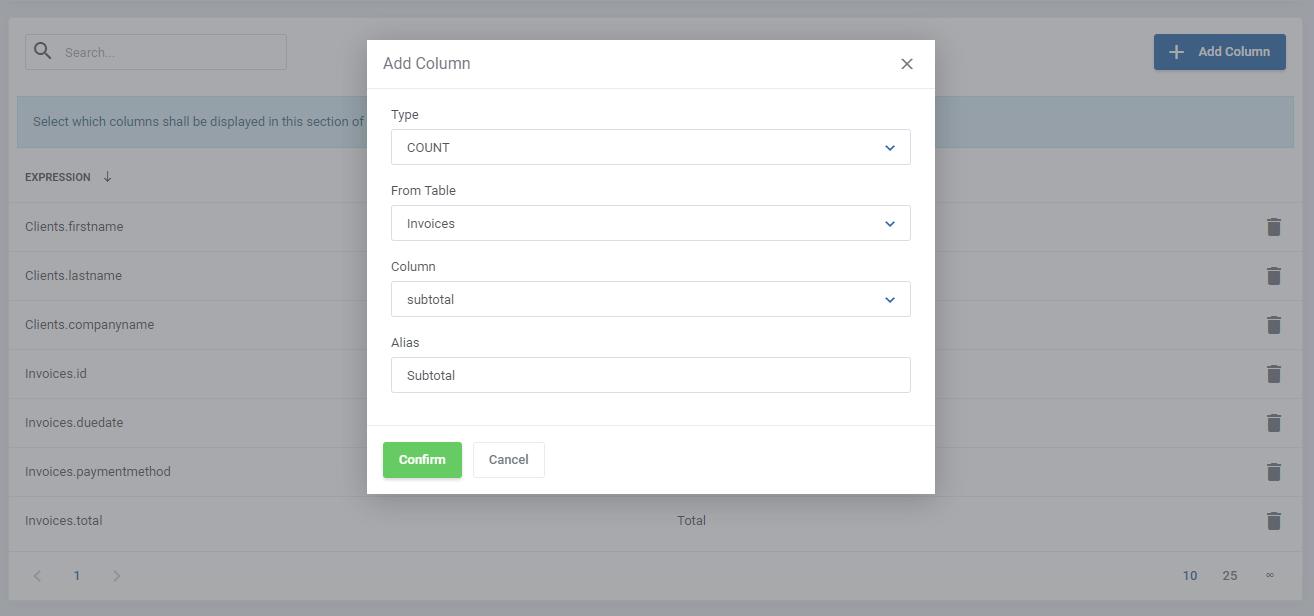 Report Generator For WHMCS: Module Screenshot 13