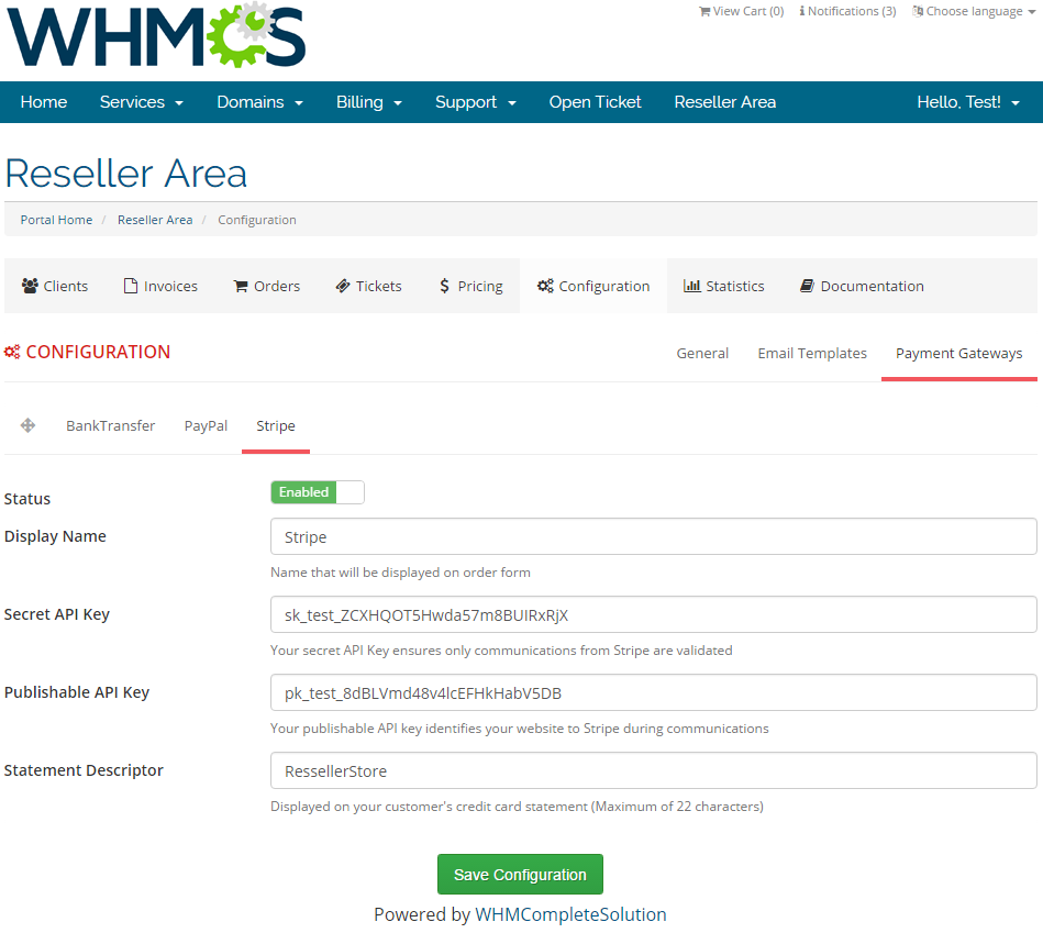 Resellers Center For WHMCS: Screen 30