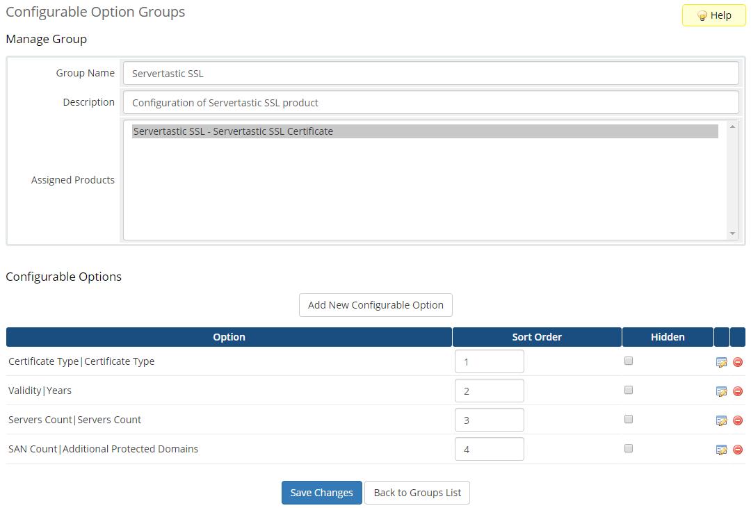 Servertastic SSL For WHMCS: Module Screenshot 6
