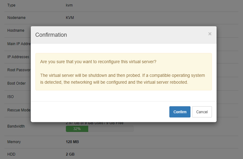 SolusVM Extended VPS For WHMCS: Module Screenshot 4