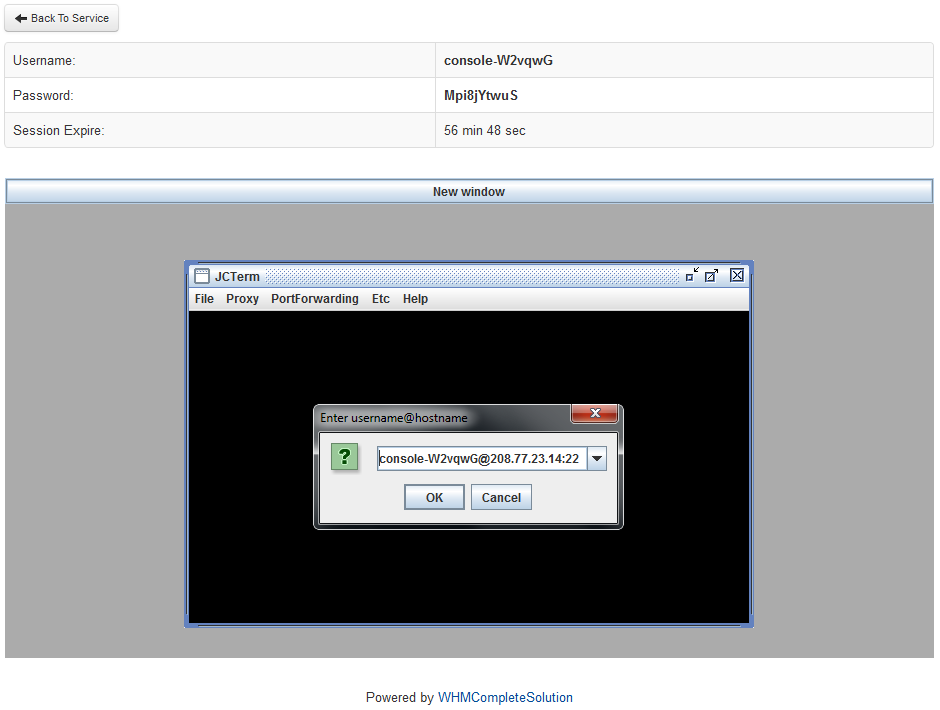 SolusVM Extended VPS For WHMCS: Screen 4