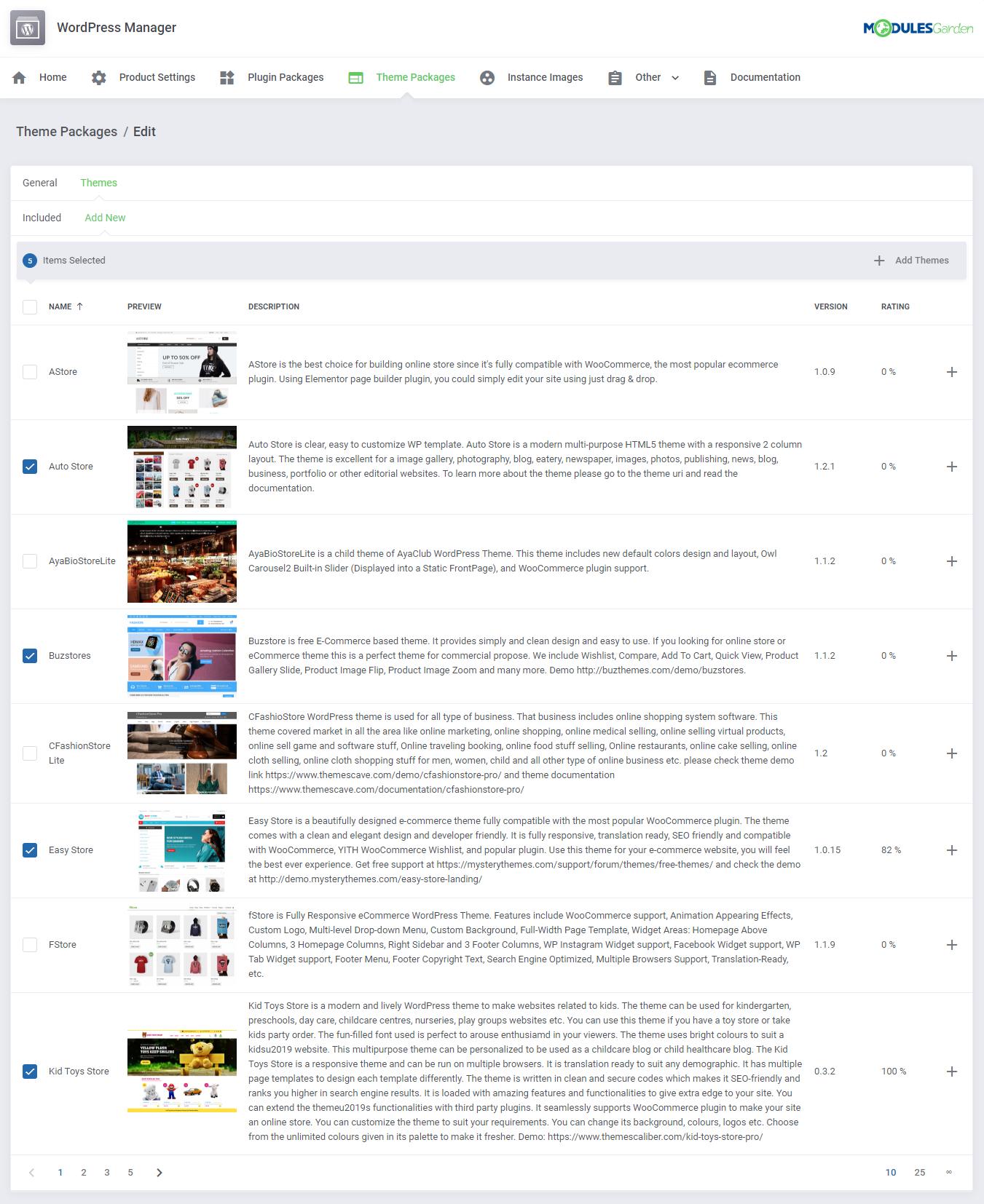 WordPress Manager For WHMCS: Module Screenshot 29