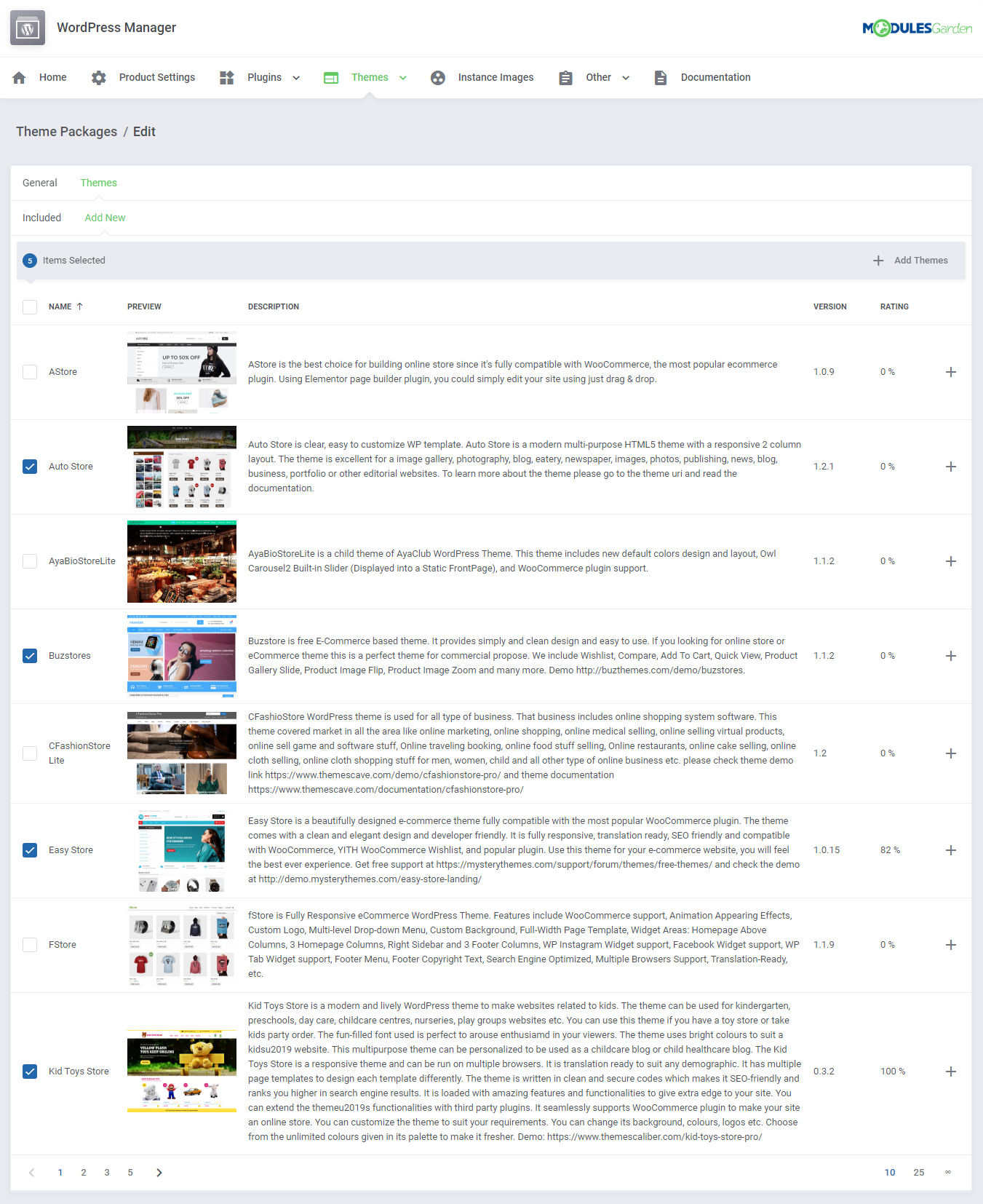 WordPress Manager For WHMCS: Module Screenshot 35