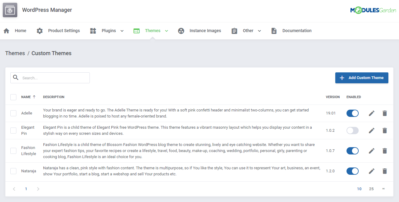 WordPress Manager For WHMCS: Module Screenshot 37