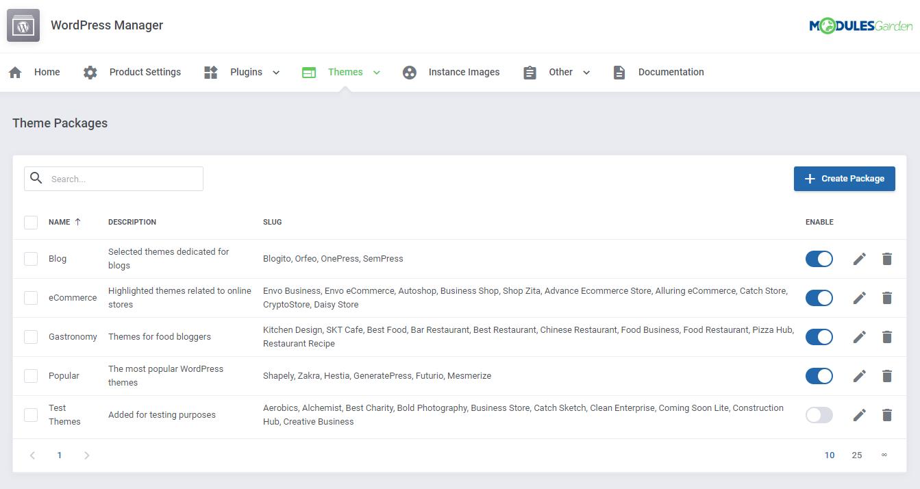 WordPress Manager For WHMCS: Module Screenshot 34